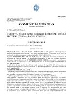 Bando - Morolo - Comune di Morolo