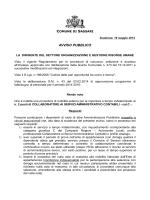 Avviso mobilità esterna n. 2 Collaboratori ai Servizi Amministrativo
