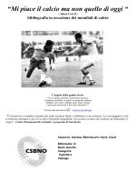 mondiali di calcio 2014 - Consorzio Sistema Bibliotecario Nord Ovest