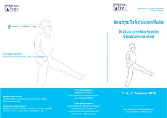 5-7_febbraio_2014 1:Invito.qxd - The James Joyce Italian Foundation