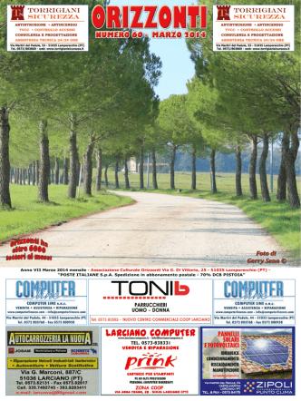 Anno VII Marzo 2014 mensile - Associazione Culturale Orizzonti Via