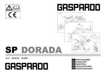 19530195 Ricambi SP DORADA 2004 09.p65