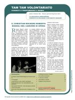 """Tam Tam Volontariato"" n. 382 del 29/01/2015"