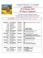 01 Febbraio - Menta e Rosmarino