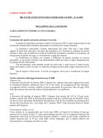 Bilancio 2007 - Fondazione Livorno