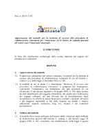 Prot. n. 2015/13193 Approvazione del modello per la