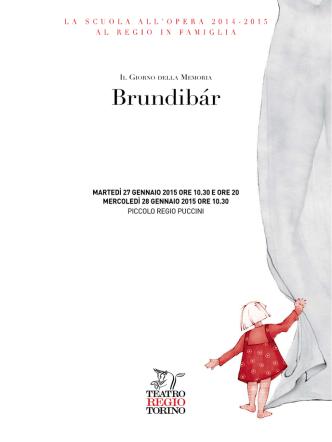 Brundibár - Teatro Regio di Torino
