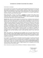 RIFLESSIONI SUL CONTRIBUTO VOLONTARIO DELLE FAMIGLIE