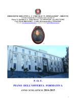 POF 2014-15 - Circolo Didattico Spedalieri » Bronte