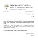 Circ. 220 Sperimentazione progetto SNAPPET