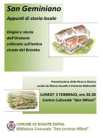 San Geminiano - Comune di Bonate Sopra