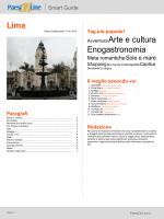 Lima Avventura Arte e cultura Enogastronomia
