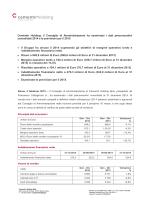 Risultati preconsuntivi consolidati 2014