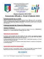 cu 76 2014-2015 - Comitato Regionale Campania