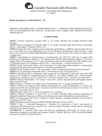 Bando AR ISTI 005-2015- PI