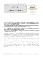 Nota Informativa n° 5/2015