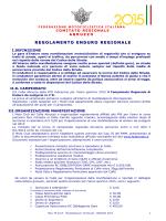 Regolamento Enduro Abruzzo 2015