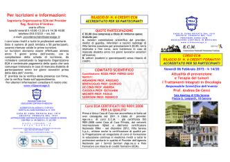 Apri brochure del corso