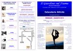 CALENDARIO AGORA` FEB - AGO 2015