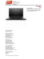 Lenovo B50-70 - Linea ufficio