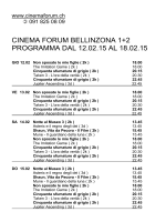 CINEMA IDEAL GIUBIASCO 1+2