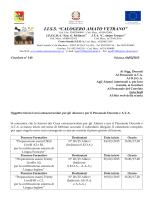 Circolare n. 140 del 06-02-2015 Inizio Corsi POF