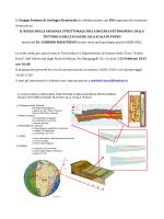 Il Gruppo Italiano di Geologia Strutturale in collaborazione con ENI