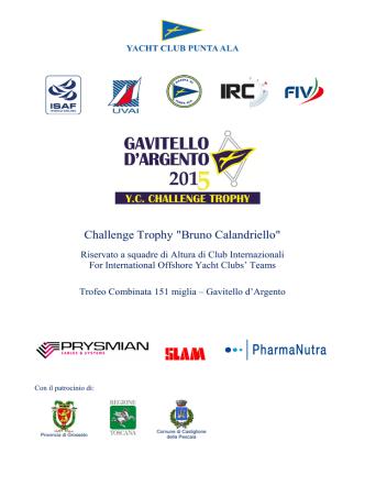 bando edizione 2015 - GAVITELLO D`ARGENTO 2014