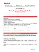 Prestito Chirografario Privati da 76.000,00 euro