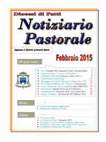 Notiziario Febbraio 2015