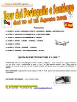 Tour del Portogallo e Santiago