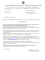 Com. n° 190 - Liceo Scientifico Castelnuovo