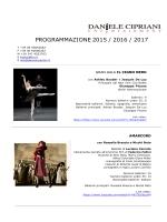 nuove proposte 2015 / 2017 - Daniele Cipriani Entertainment