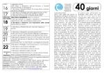 40giorni - NOTIZIARIO del Comune di Berbenno