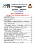 Comunicato ufficiale N.29