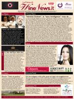 WineNews - La Prima di Winenews - n. 1560