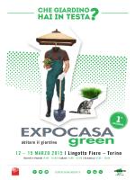 Programma Expocasa Green - AIAPP Piemonte e Valle d`Aosta