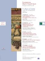 Il cibo e l`arte - Comune di Perugia