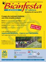 Locandina Bicinfesta 2015