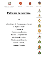 Patto per la sicurezza di Campobasso 13.02.2015