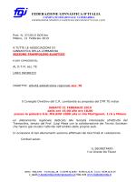 addestrativa regionale sezione trampolino el. milano 21 febbraio 2015
