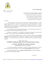 Invito incontro con card. Baldisseri - AC Forlì