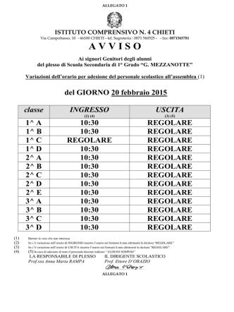 Avviso assemblea del 20_02_2015 ingresso posticipato alunnidoc