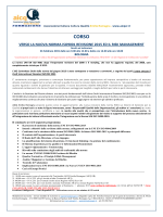 AICQ ER Nuova ISO9001 2015 e il Risk Management