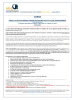 AICQ ER Nuova ISO9001 2015 e il Risk Management
