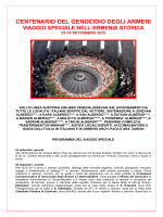programma - Associazione Italia Armenia