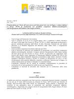 Bando Neolaureati_Progetto Pilota 2015