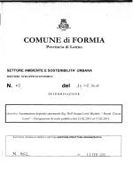 COMUNE di FORMI A