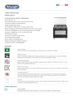 linea prestige pema 965 a - De` Longhi Cookers Forni Piani Cappe