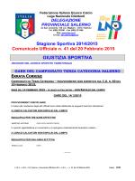 c.u. 41 - FIGC